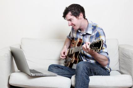 Musikunterricht online via Skype in der Musikschule Online