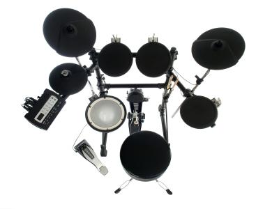 E-Drums Unterricht online mit Webcam